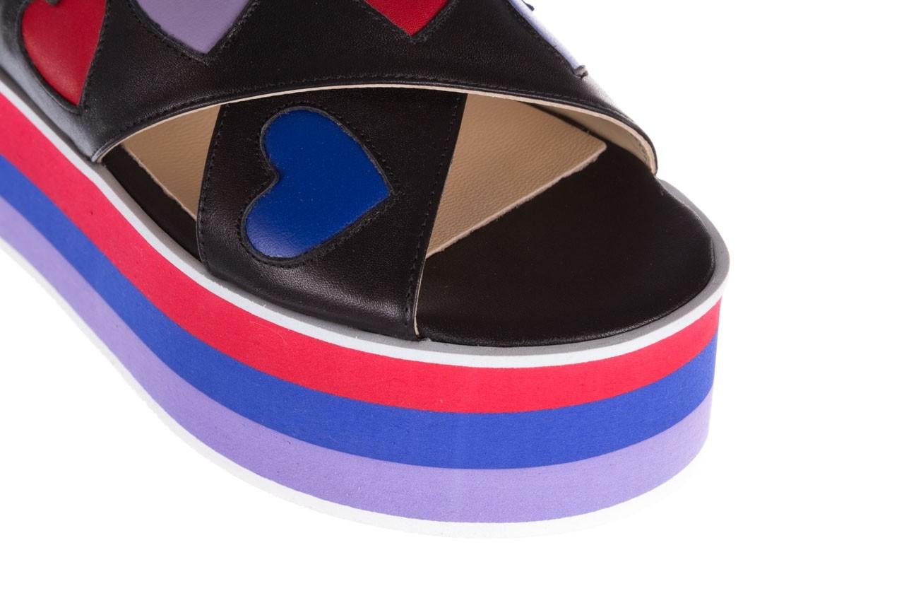 Sandały bayla-176 19136 czarny, skóra naturalna  - na platformie - sandały - buty damskie - kobieta 12