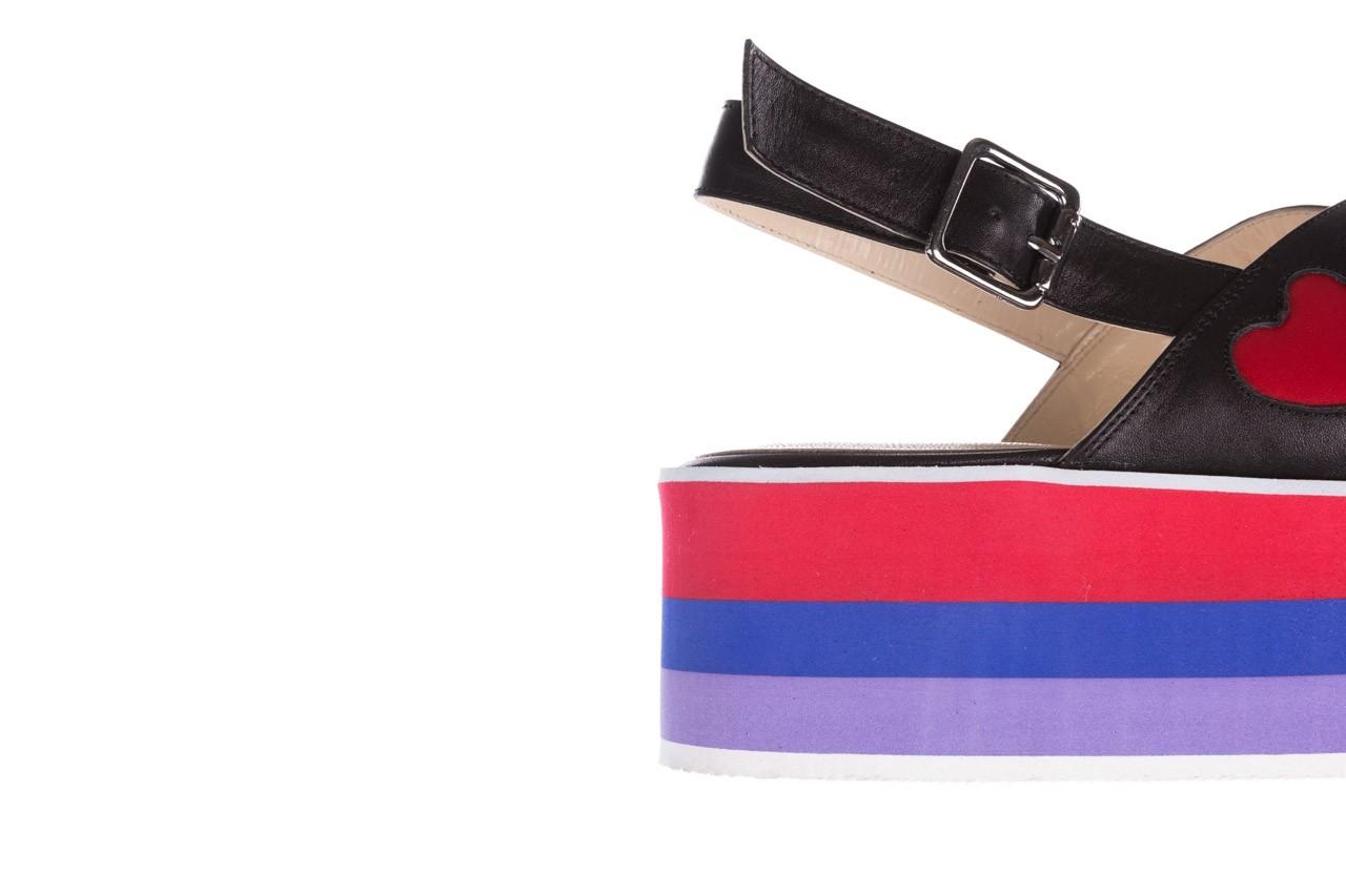 Sandały bayla-176 19136 czarny, skóra naturalna  - na platformie - sandały - buty damskie - kobieta 13