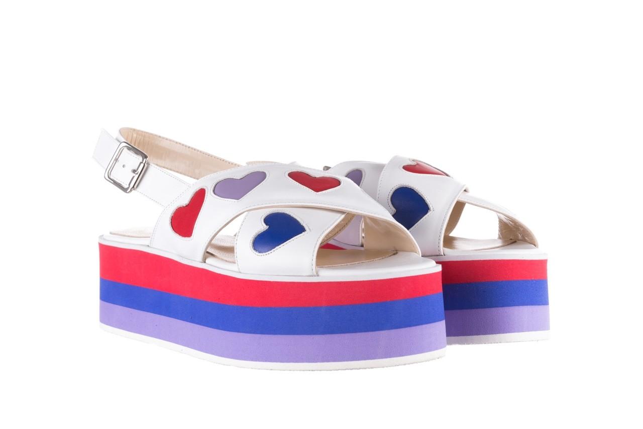 Sandały bayla-176 19136 biały, skóra naturalna  - bayla - nasze marki 8