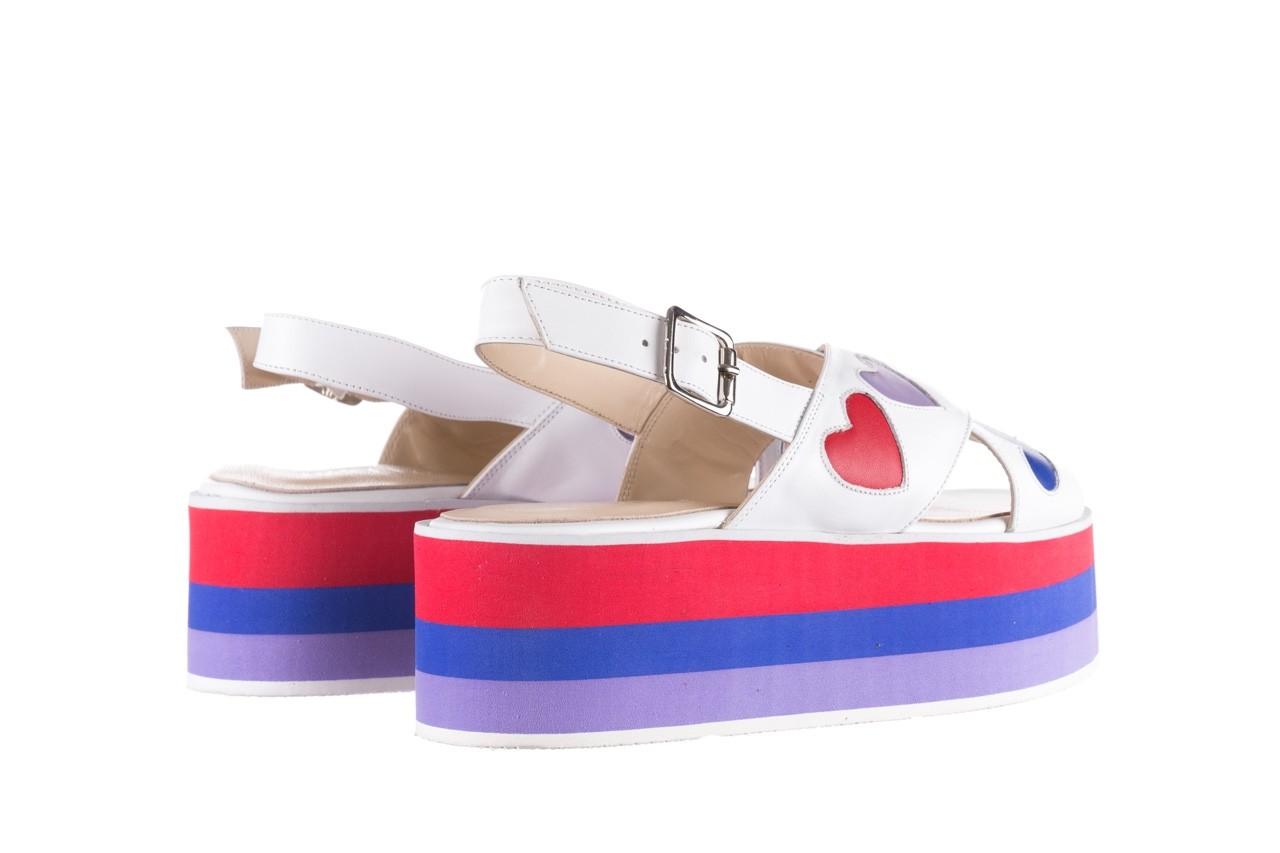 Sandały bayla-176 19136 biały, skóra naturalna  - bayla - nasze marki 10