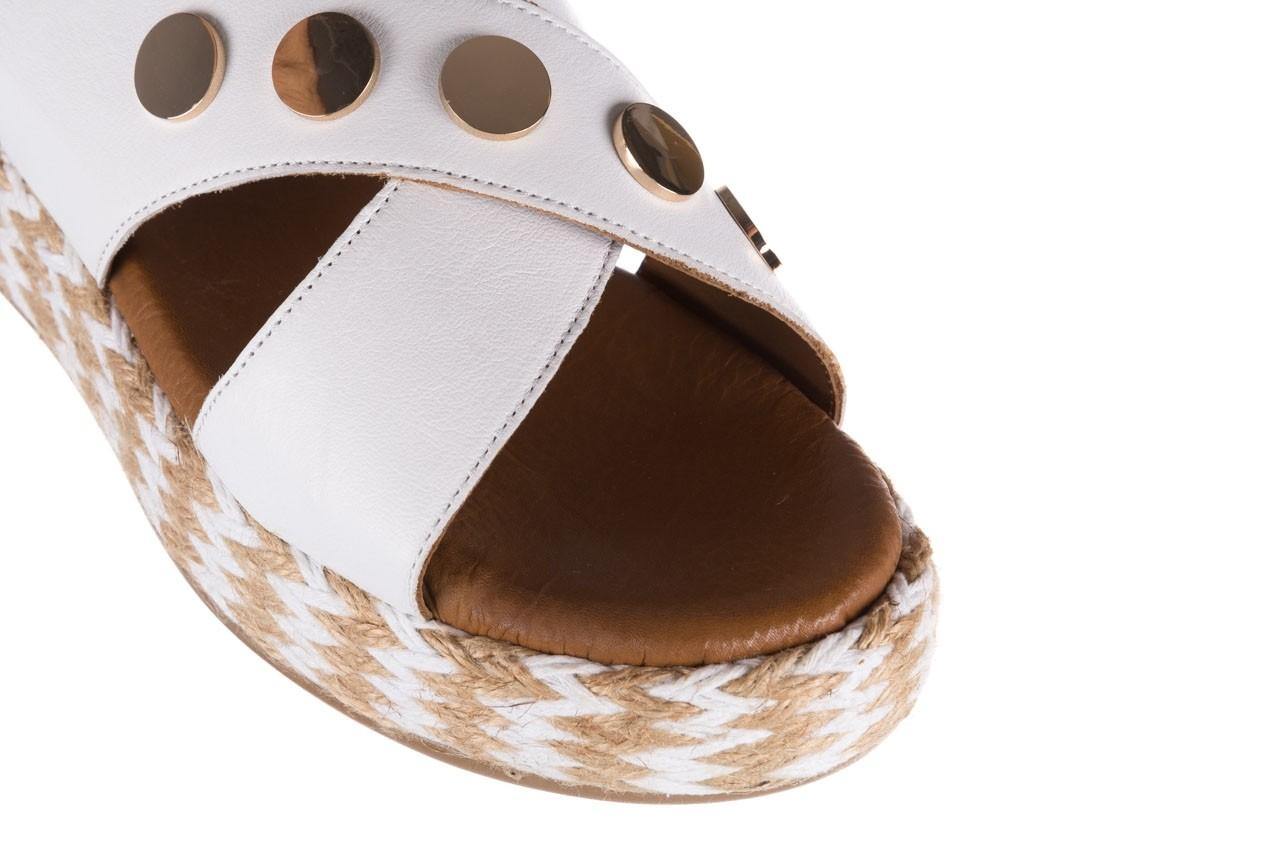 Sandały bayla-176 1414 biały, skóra naturalna  - na platformie - sandały - buty damskie - kobieta 12