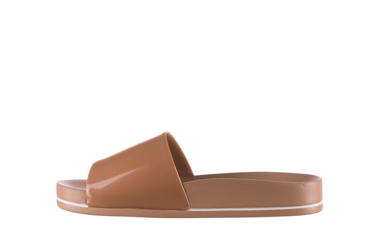 Klapki azaleia 290 195 capuccino, brąz, guma - gumowe/plastikowe - klapki - buty damskie - kobieta 8