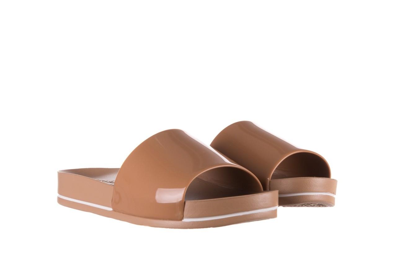 Klapki azaleia 290 195 capuccino, brąz, guma - gumowe/plastikowe - klapki - buty damskie - kobieta 7