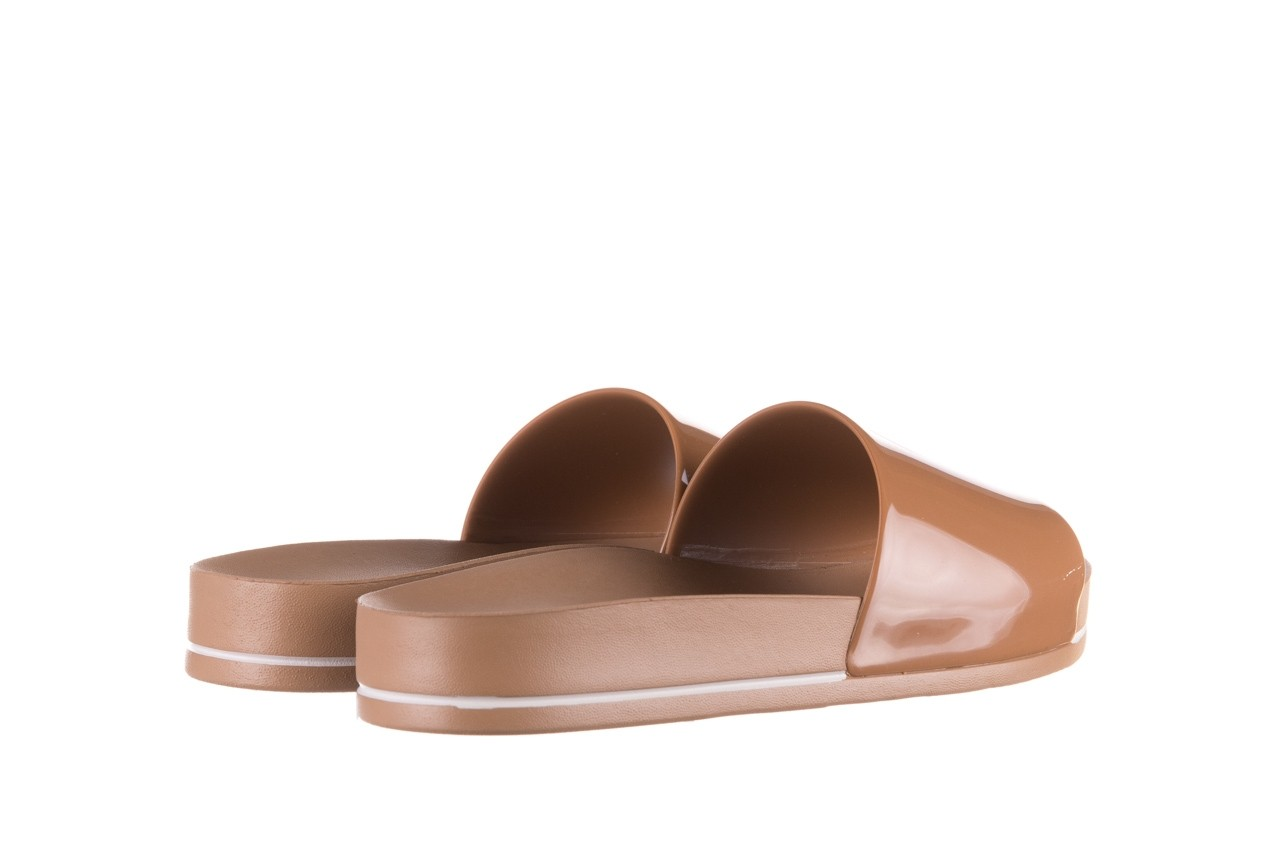 Klapki azaleia 290 195 capuccino, brąz, guma - gumowe/plastikowe - klapki - buty damskie - kobieta 9