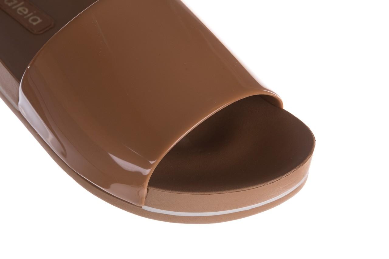 Klapki azaleia 290 195 capuccino, brąz, guma - gumowe/plastikowe - klapki - buty damskie - kobieta 11