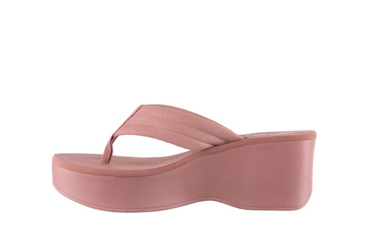 Klapki dijean 276 209 nobuck old pink, róż, materiał - gumowe/plastikowe - klapki - buty damskie - kobieta 9