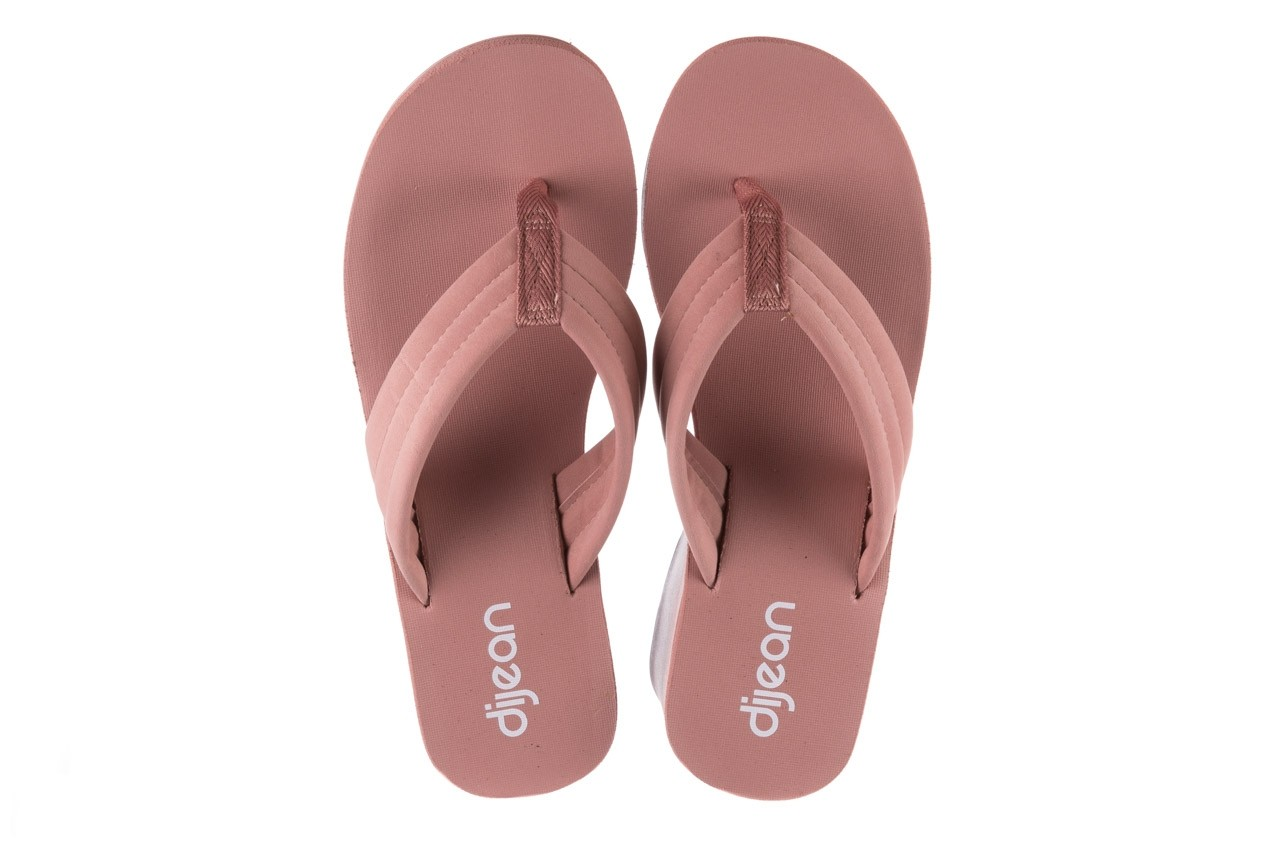 Klapki dijean 276 209 nobuck old pink, róż, materiał - gumowe/plastikowe - klapki - buty damskie - kobieta 11