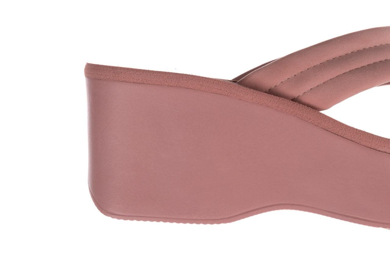 Klapki dijean 276 209 nobuck old pink, róż, materiał - gumowe/plastikowe - klapki - buty damskie - kobieta 13