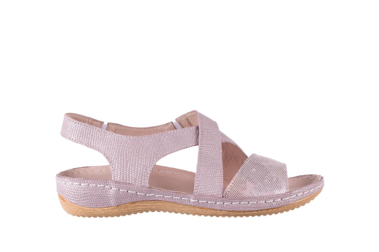 Sandały bayla-100 449 lila, skóra naturalna  - bayla - nasze marki 8
