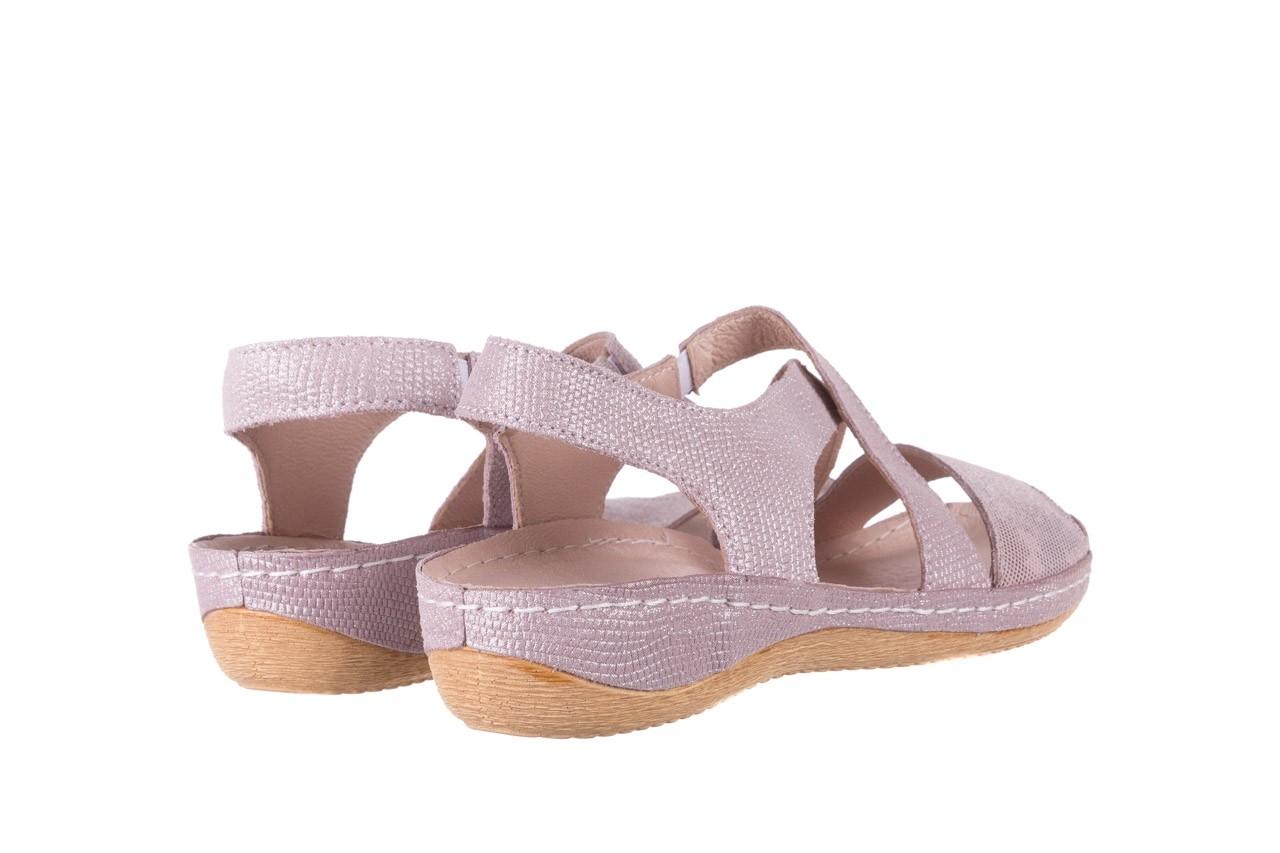 Sandały bayla-100 449 lila, skóra naturalna  - bayla - nasze marki 11
