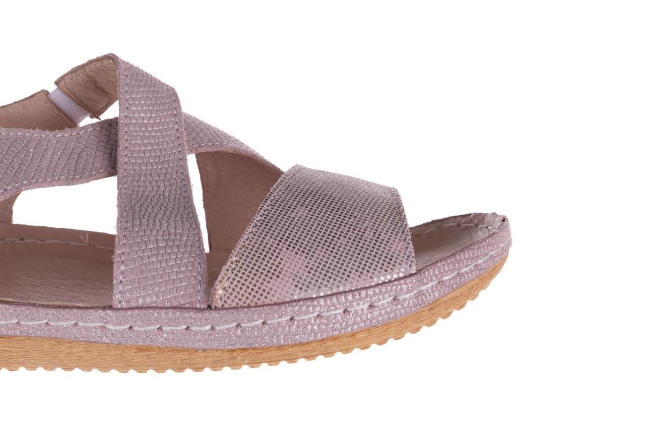 Sandały bayla-100 449 lila, skóra naturalna  - bayla - nasze marki 14