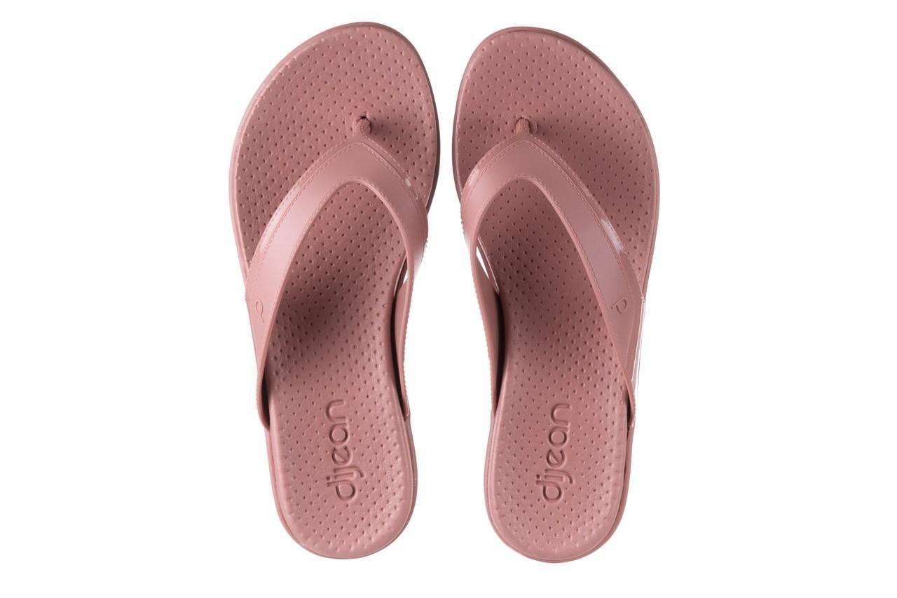 Klapki dijean 286 248 old pink-pink, róż, guma - dijean - nasze marki 10