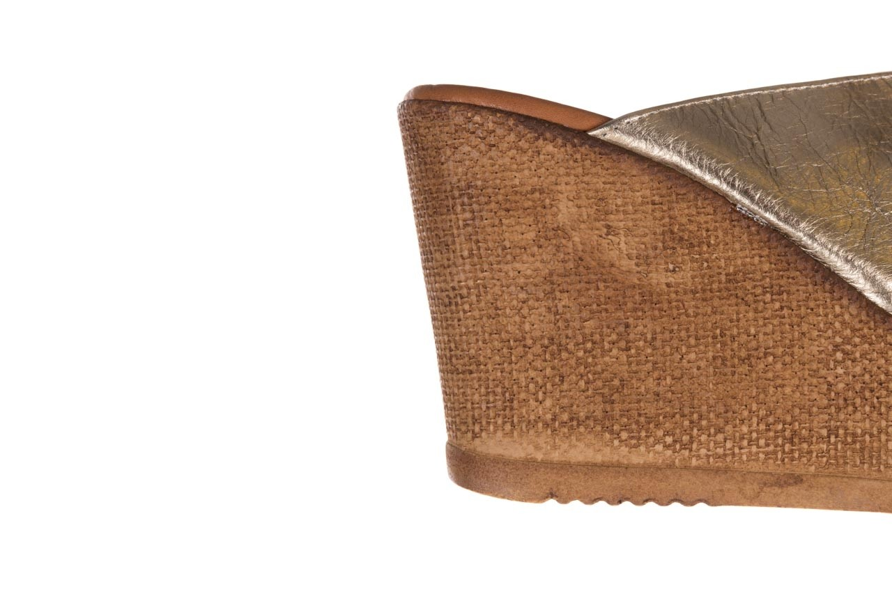 Koturny bayla-179 9104 złoty, skóra naturalna  - koturny - buty damskie - kobieta 13