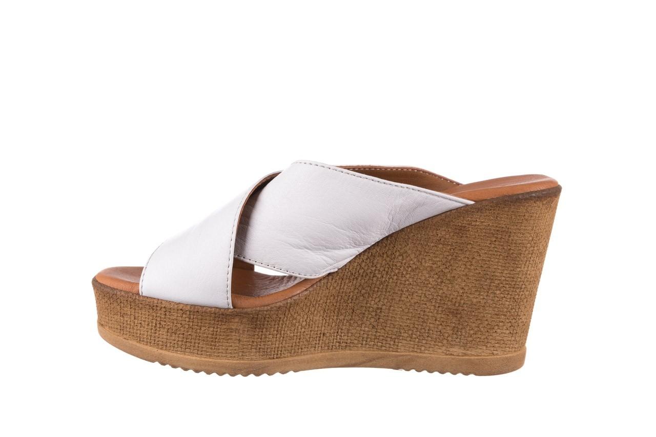 Koturny bayla-179 9104 biały, skóra naturalna  - koturny - buty damskie - kobieta 9