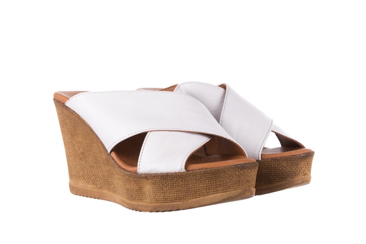 Koturny bayla-179 9104 biały, skóra naturalna  - koturny - buty damskie - kobieta 8