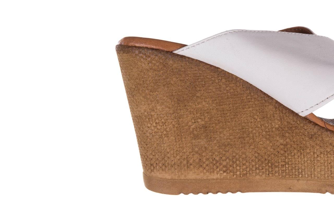 Koturny bayla-179 9104 biały, skóra naturalna  - koturny - buty damskie - kobieta 12
