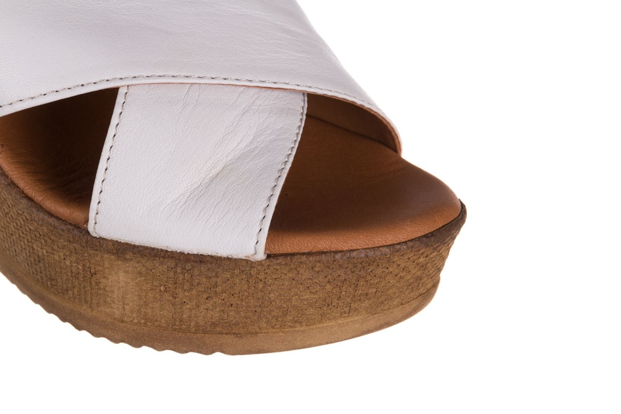 Koturny bayla-179 9104 biały, skóra naturalna  - koturny - buty damskie - kobieta 13