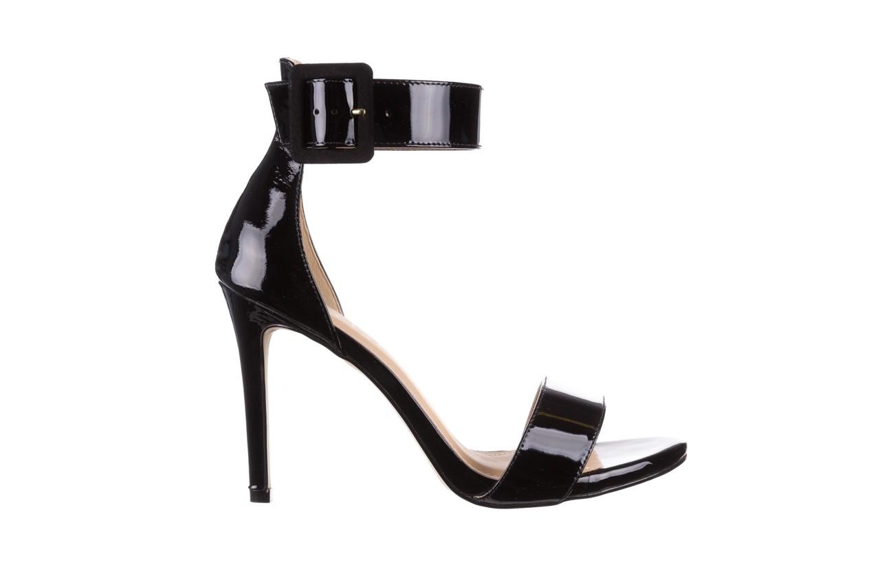 Sandały bayla-065 6189496 czarny, skóra naturalna lakierowana - na obcasie - sandały - buty damskie - kobieta 7