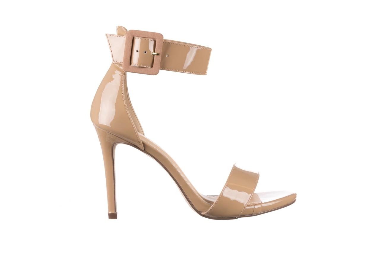 Sandały bayla-065 6189496 beż, skóra naturalna lakierowana 7