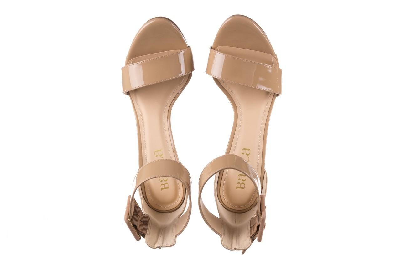 Sandały bayla-065 6189496 beż, skóra naturalna lakierowana 11
