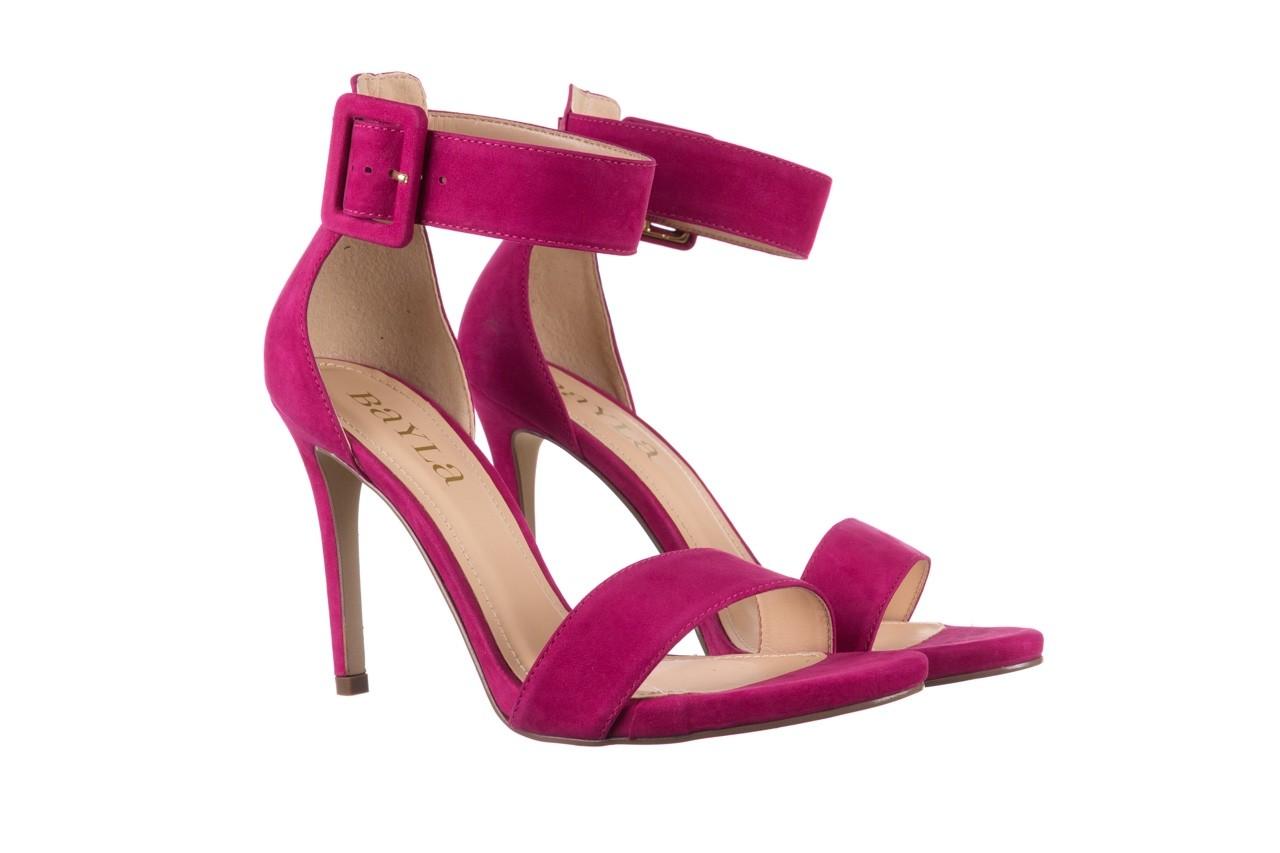 Sandały bayla-065 6189496 róż, skóra naturalna - bayla - nasze marki 8