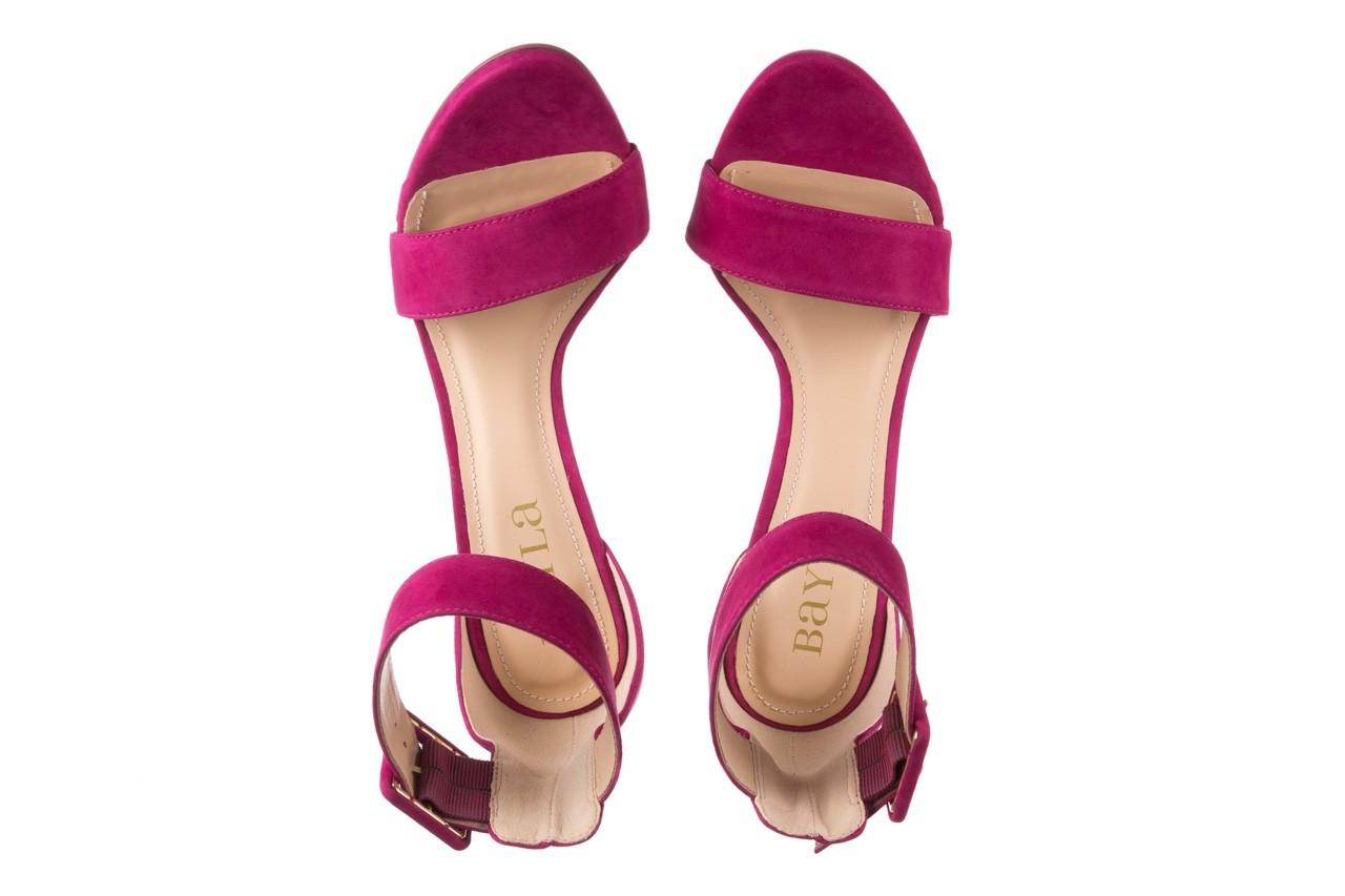 Sandały bayla-065 6189496 róż, skóra naturalna - bayla - nasze marki 11
