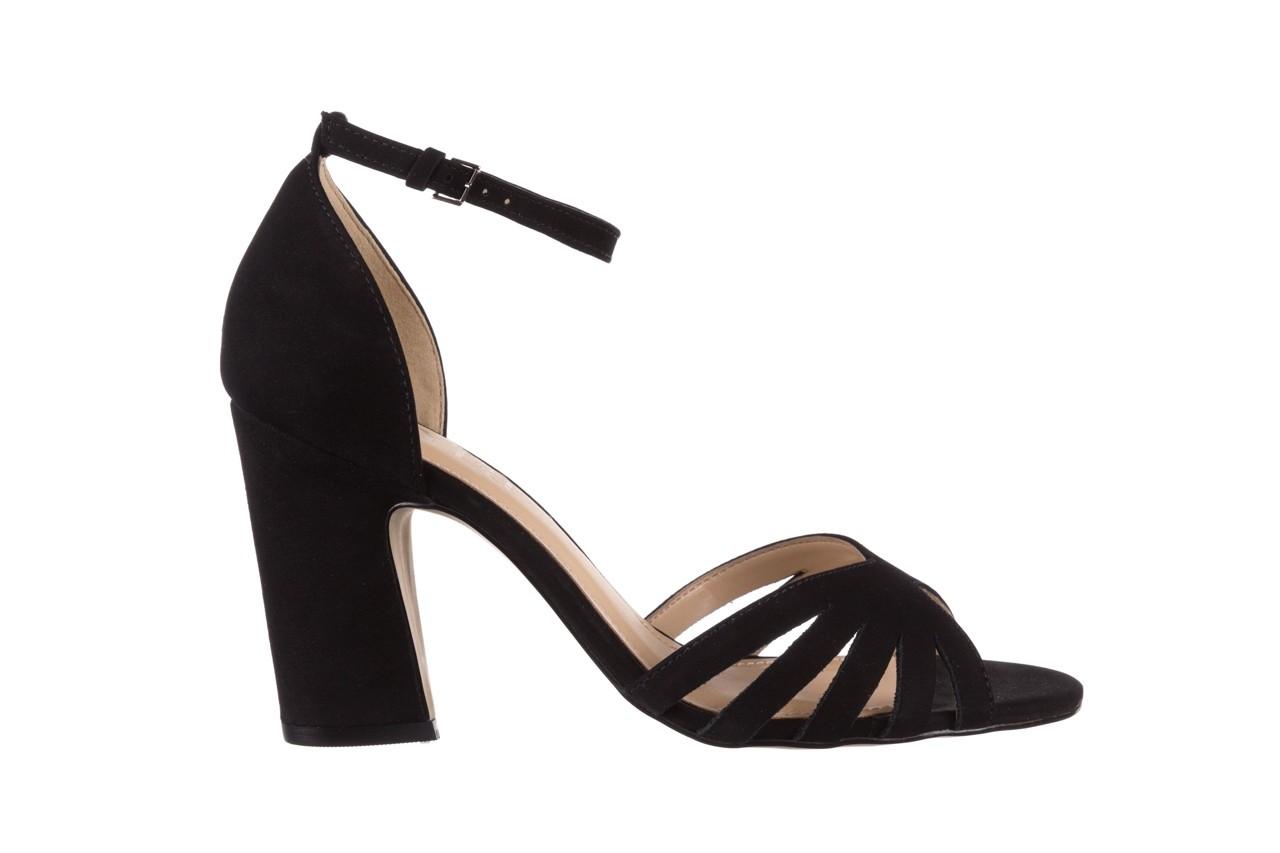 Sandały bayla-065 6140138 czarny, skóra naturalna  - rozmiar 36 - kobieta - mega okazje - ostatnie rozmiary 7