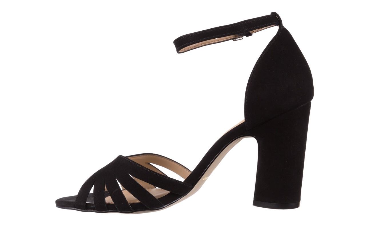Sandały bayla-065 6140138 czarny, skóra naturalna  - rozmiar 36 - kobieta - mega okazje - ostatnie rozmiary 9