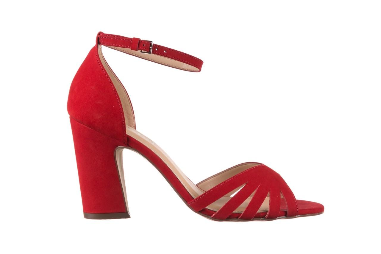 Sandały bayla-065 6140138 czerwony, skóra naturalna  - bayla - nasze marki 7