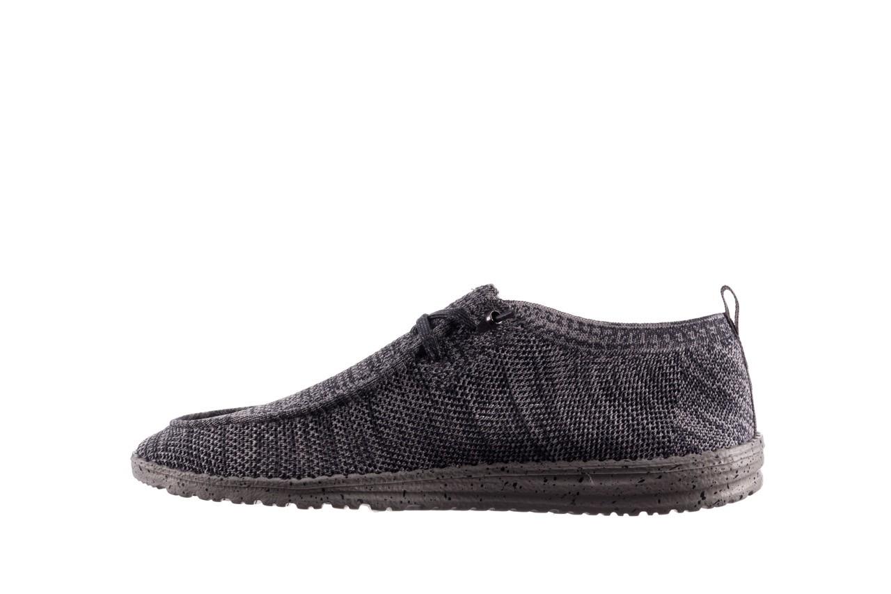 Półbuty heydude wally knit multi grey, granat/ szary, materiał  - trendy - mężczyzna 9