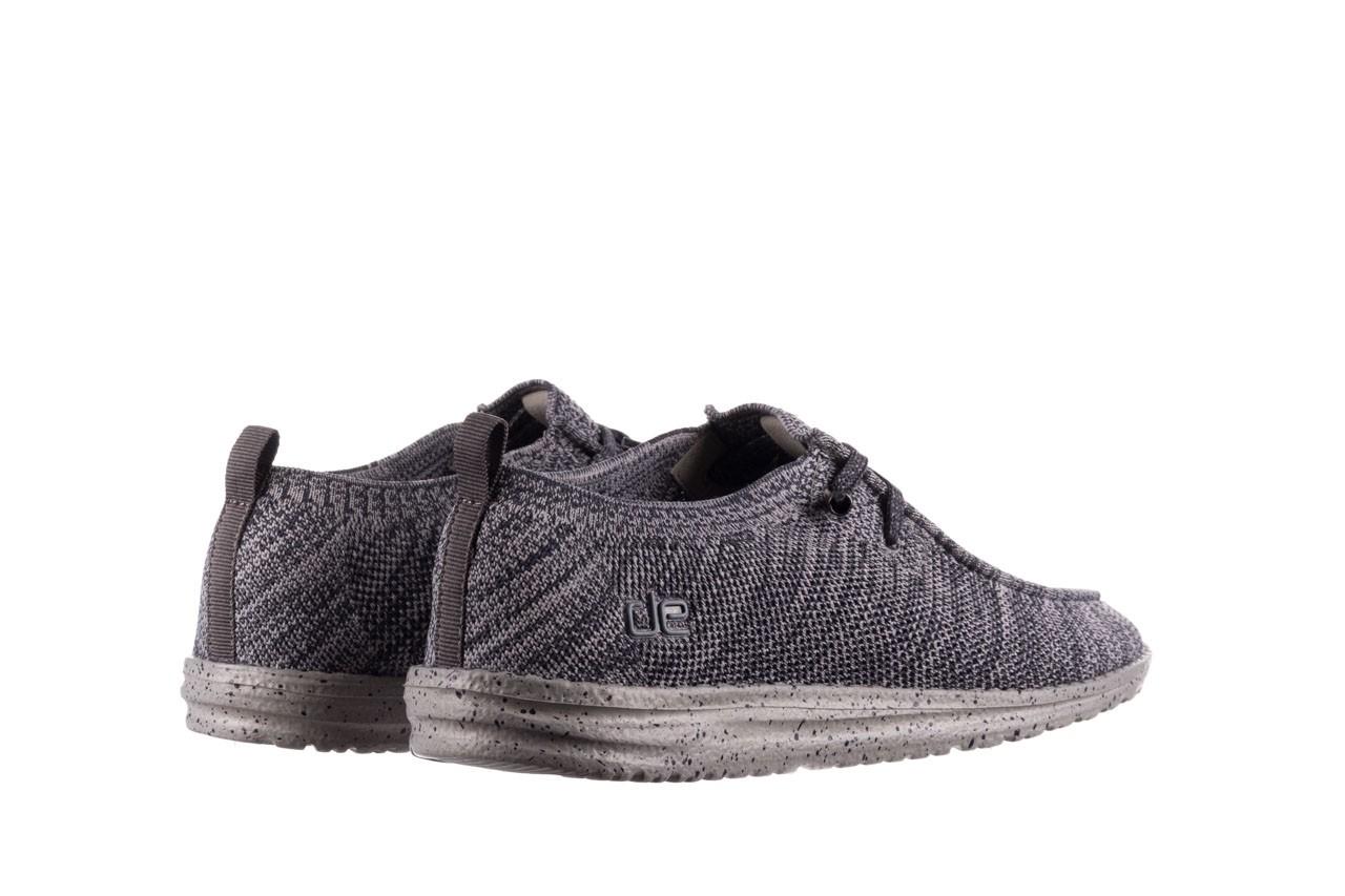 Półbuty heydude wally knit multi grey, granat/ szary, materiał  - trendy - mężczyzna 10
