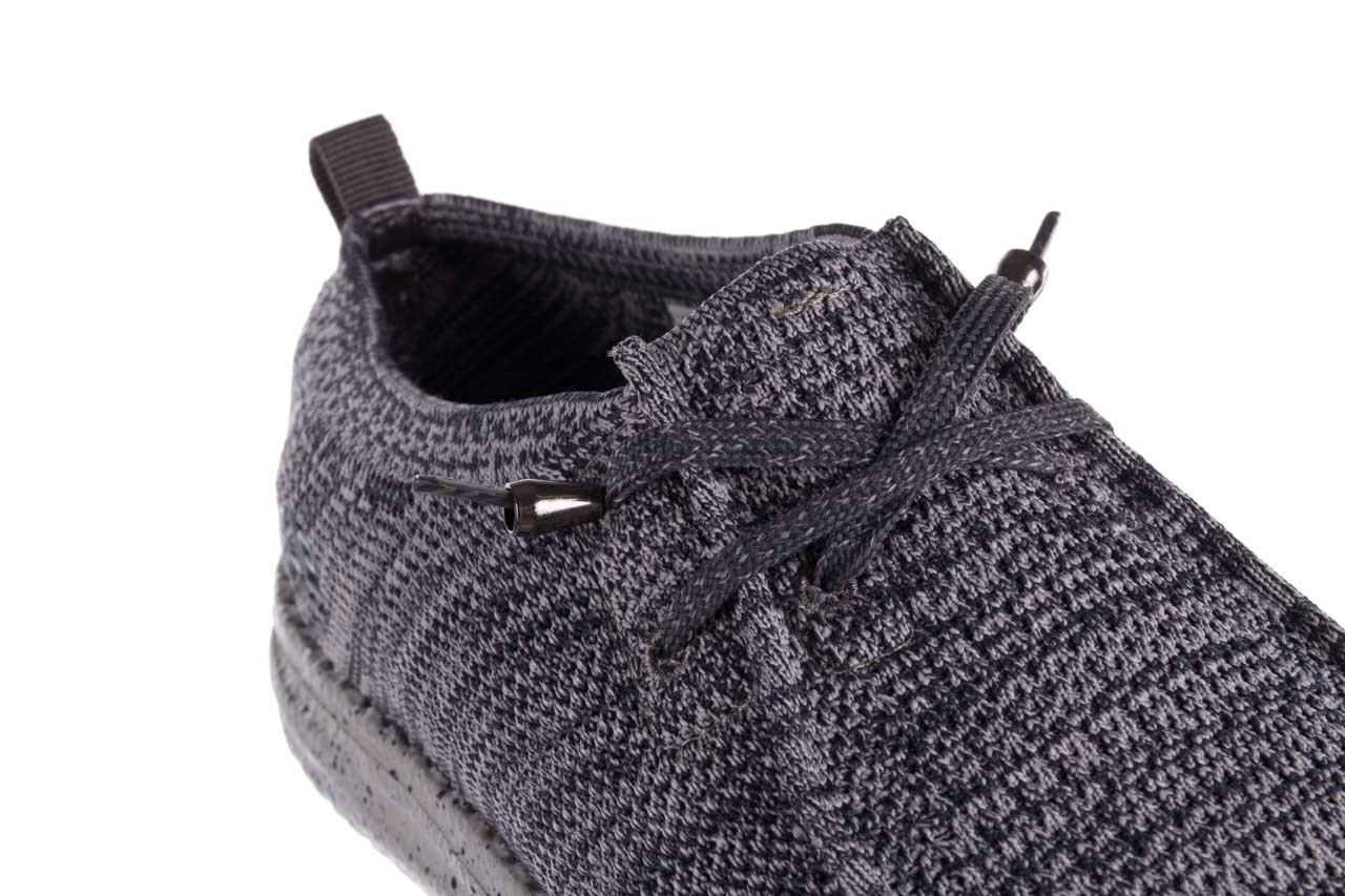 Półbuty heydude wally knit multi grey, granat/ szary, materiał  - trendy - mężczyzna 12