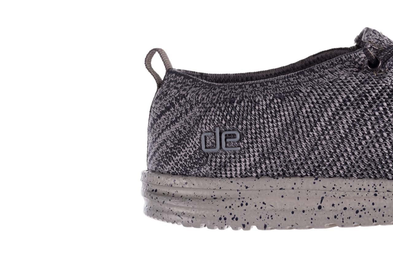 Półbuty heydude wally knit multi grey, granat/ szary, materiał  - trendy - mężczyzna 13
