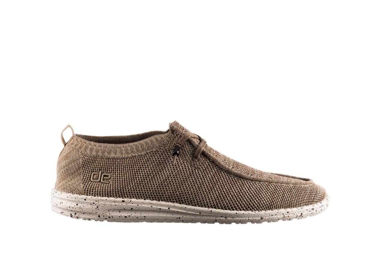 Półbuty heydude wally knit beige, beż, materiał - sportowe - półbuty - buty męskie - mężczyzna 7