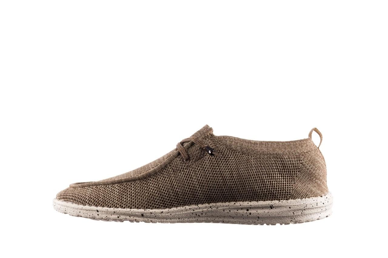 Półbuty heydude wally knit beige, beż, materiał - sportowe - półbuty - buty męskie - mężczyzna 9