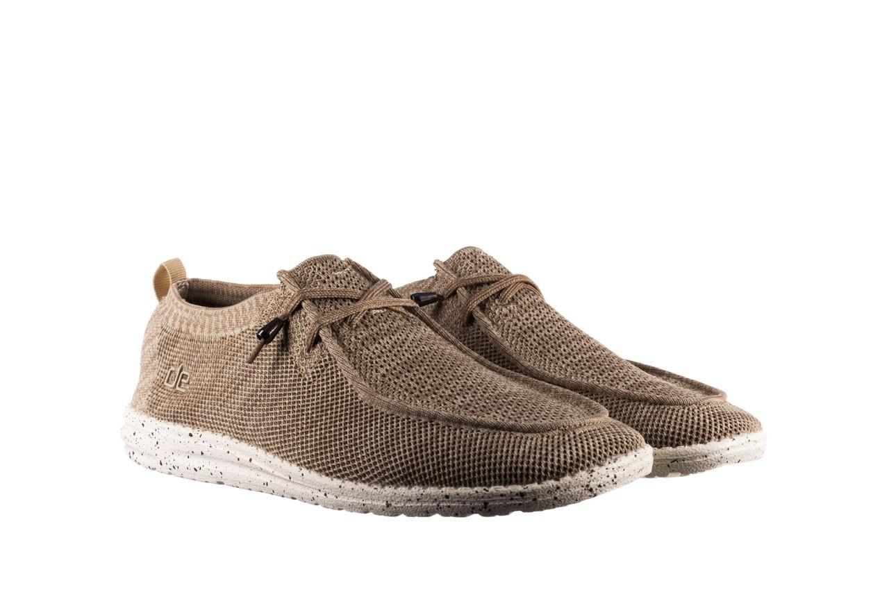 Półbuty heydude wally knit beige, beż, materiał - sportowe - półbuty - buty męskie - mężczyzna 8