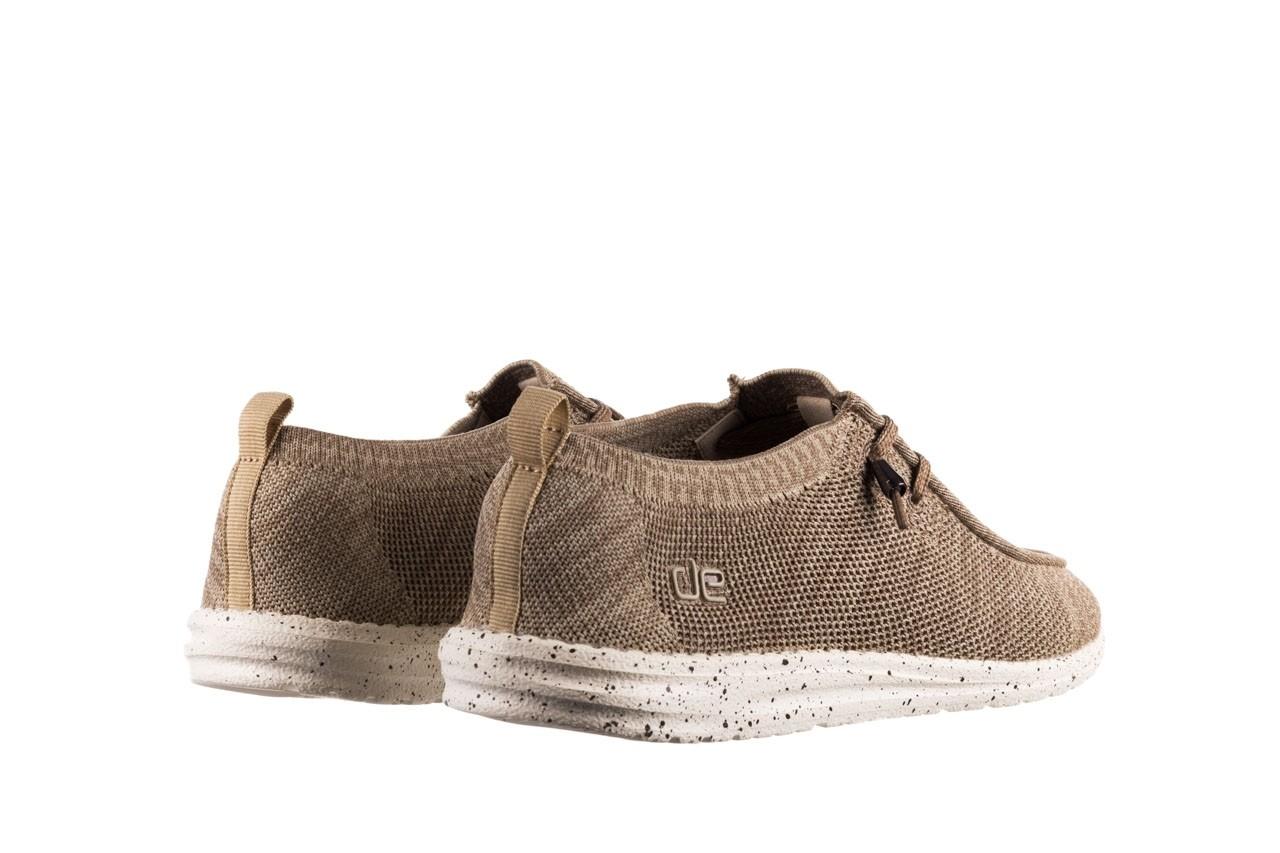 Półbuty heydude wally knit beige, beż, materiał - sportowe - półbuty - buty męskie - mężczyzna 10