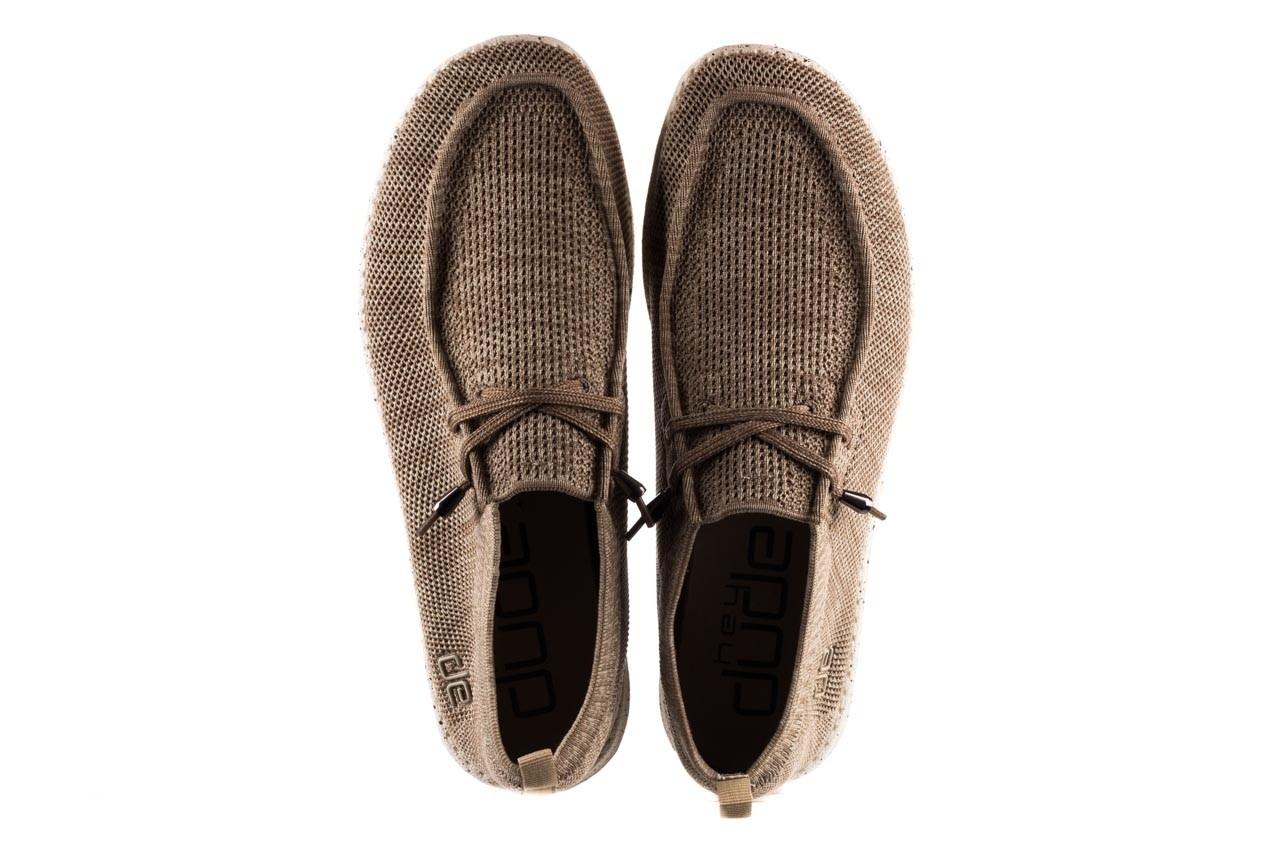 Półbuty heydude wally knit beige, beż, materiał - sportowe - półbuty - buty męskie - mężczyzna 11