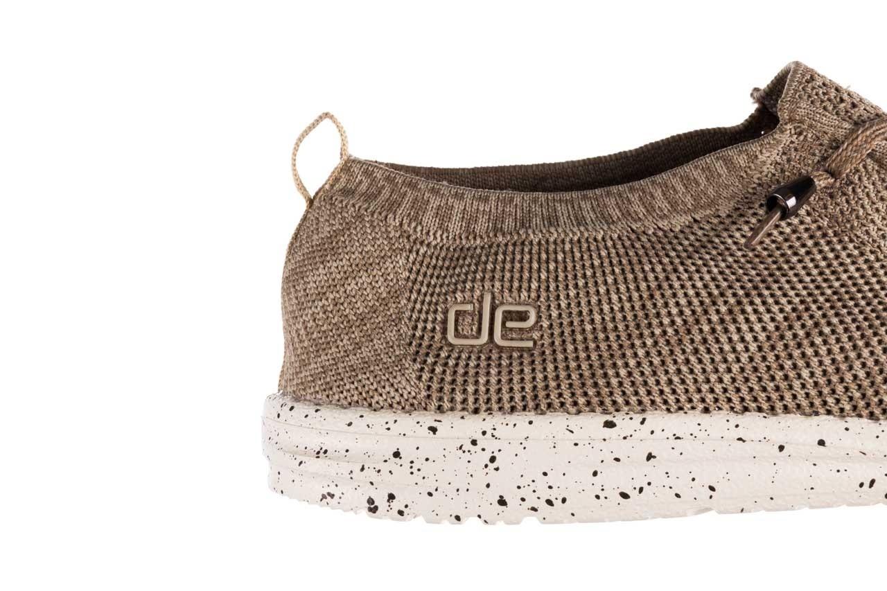 Półbuty heydude wally knit beige, beż, materiał - sportowe - półbuty - buty męskie - mężczyzna 13