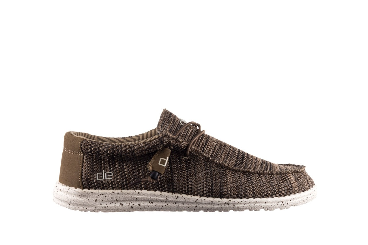 Półbuty heydude wally sox brown, khaki, materiał - sportowe - półbuty - buty męskie - mężczyzna 7