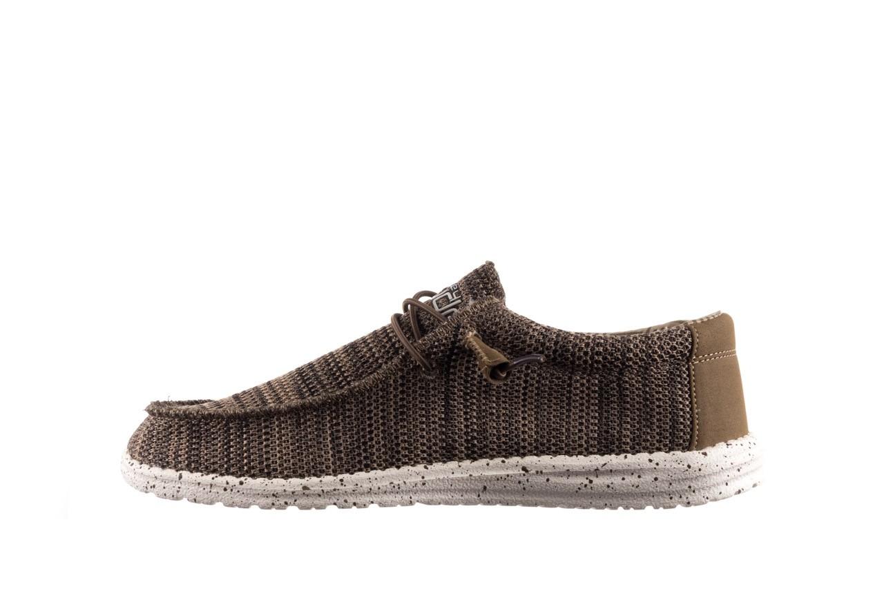 Półbuty heydude wally sox brown, khaki, materiał - sportowe - półbuty - buty męskie - mężczyzna 9