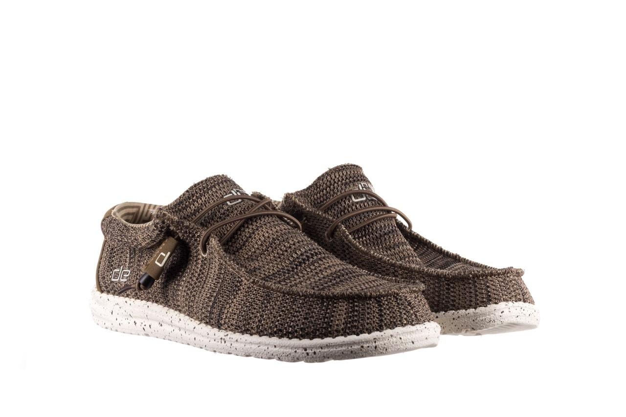 Półbuty heydude wally sox brown, khaki, materiał - sportowe - półbuty - buty męskie - mężczyzna 8