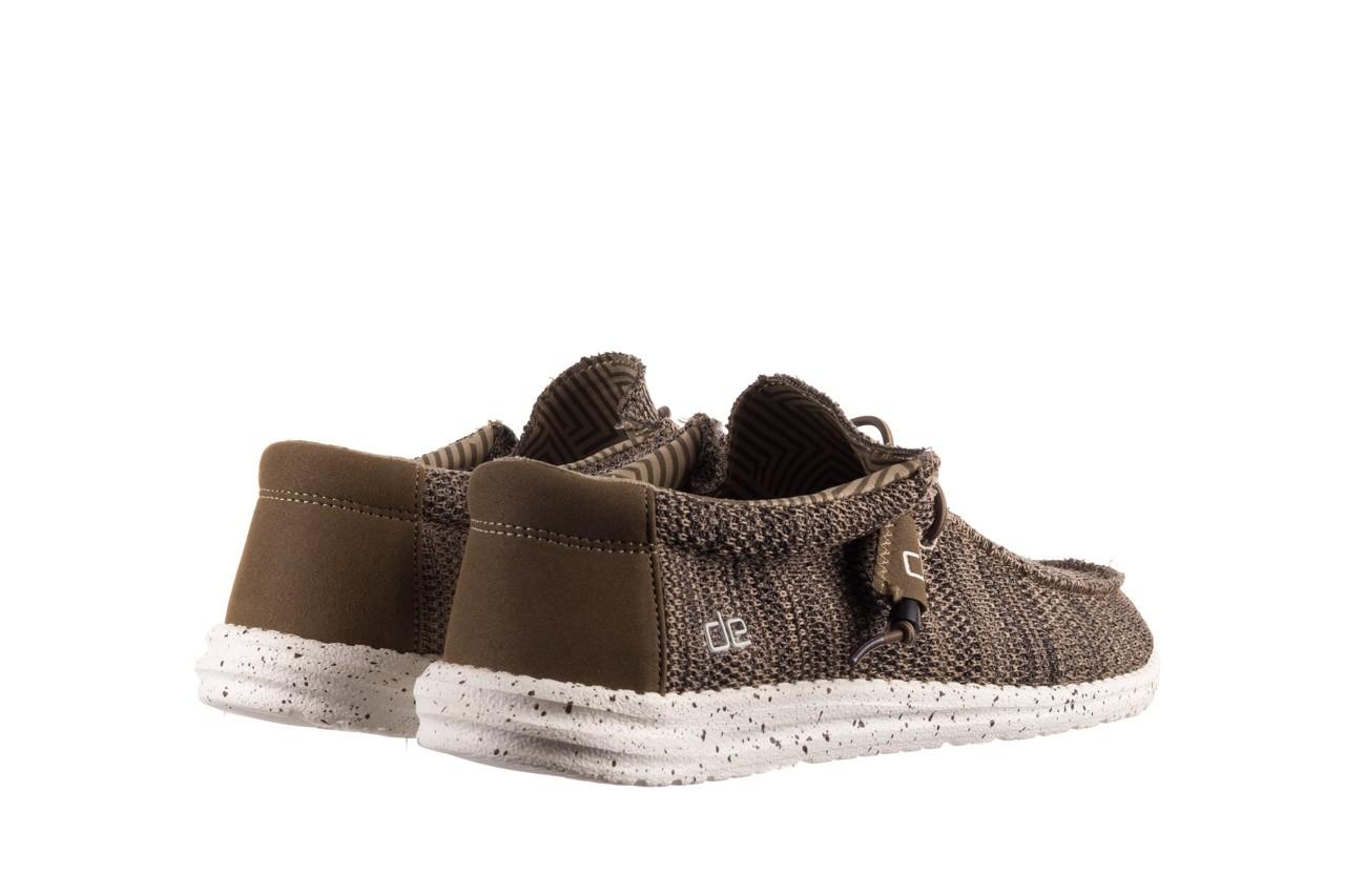 Półbuty heydude wally sox brown, khaki, materiał - sportowe - półbuty - buty męskie - mężczyzna 10