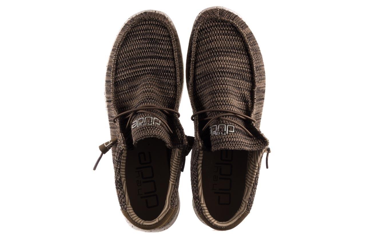 Półbuty heydude wally sox brown, khaki, materiał - sportowe - półbuty - buty męskie - mężczyzna 11