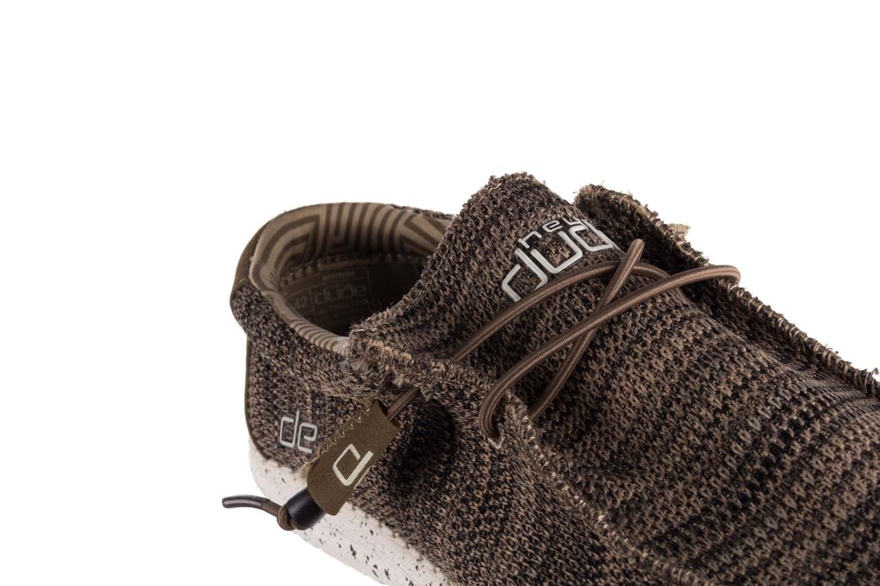 Półbuty heydude wally sox brown, khaki, materiał - mega okazje - ostatnie rozmiary 12