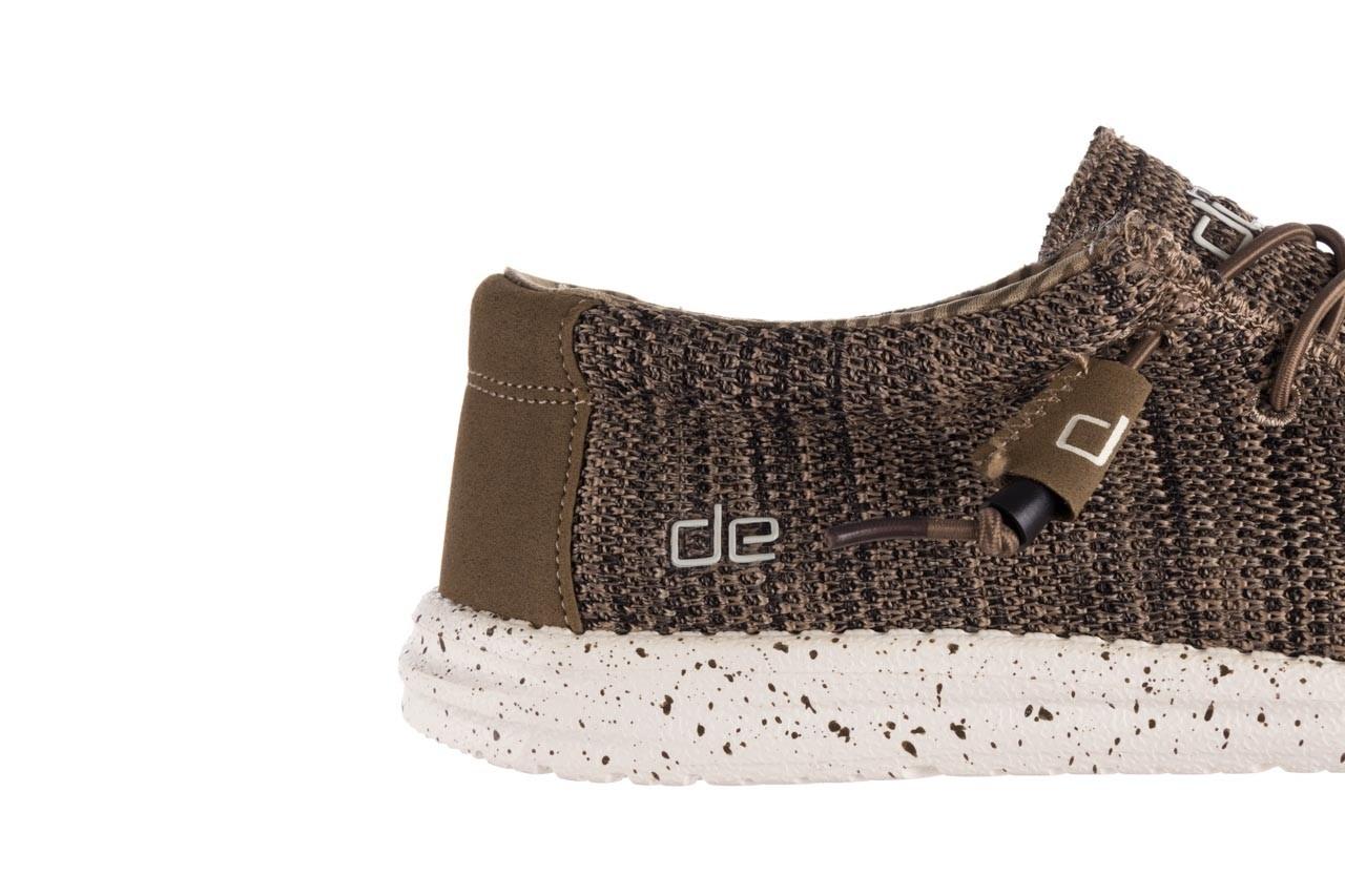 Półbuty heydude wally sox brown, khaki, materiał - sportowe - półbuty - buty męskie - mężczyzna 13