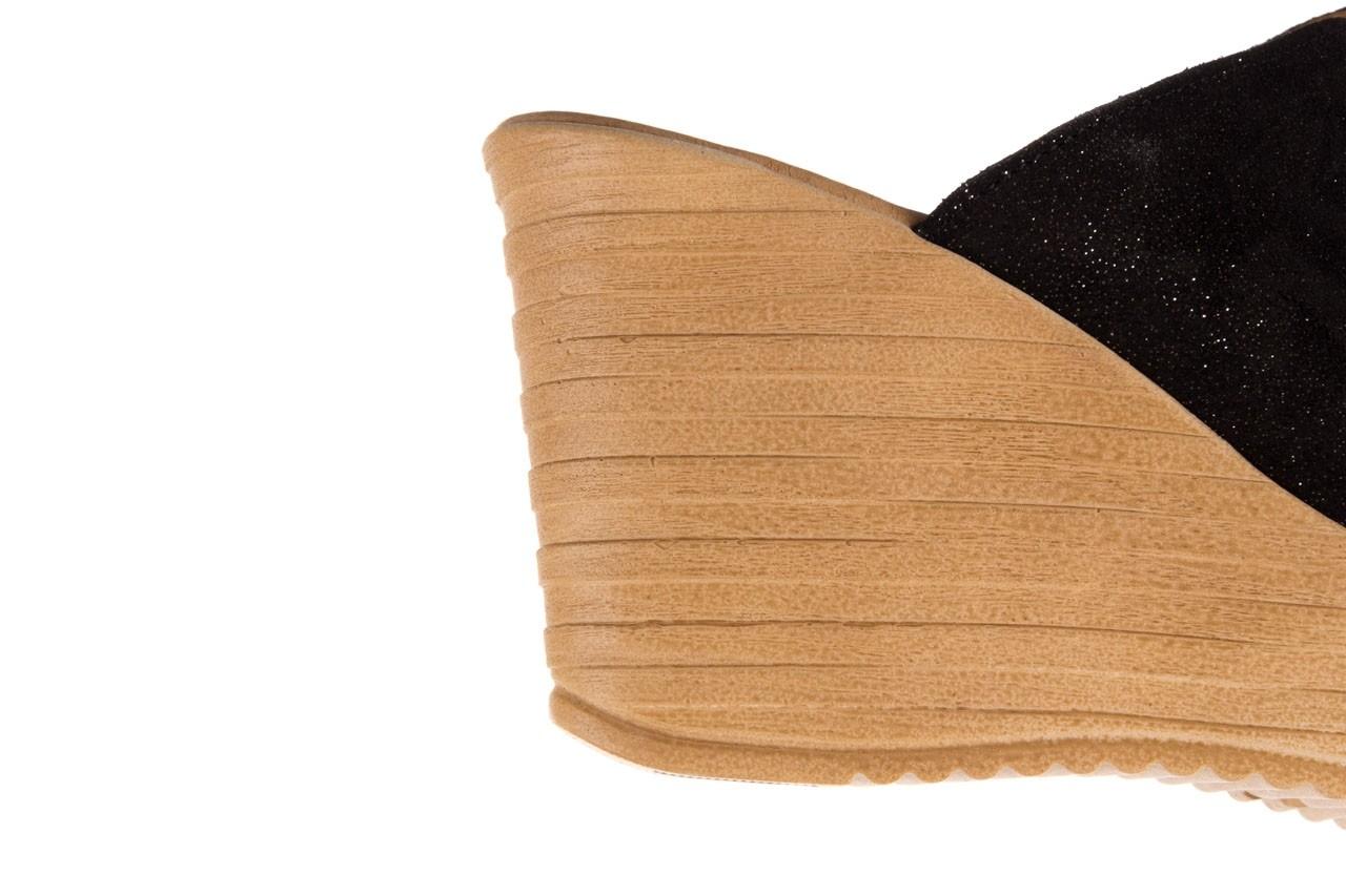 Koturny bayla-100 490 czarny, skóra naturalna  - koturny - dla niej  - sale 13