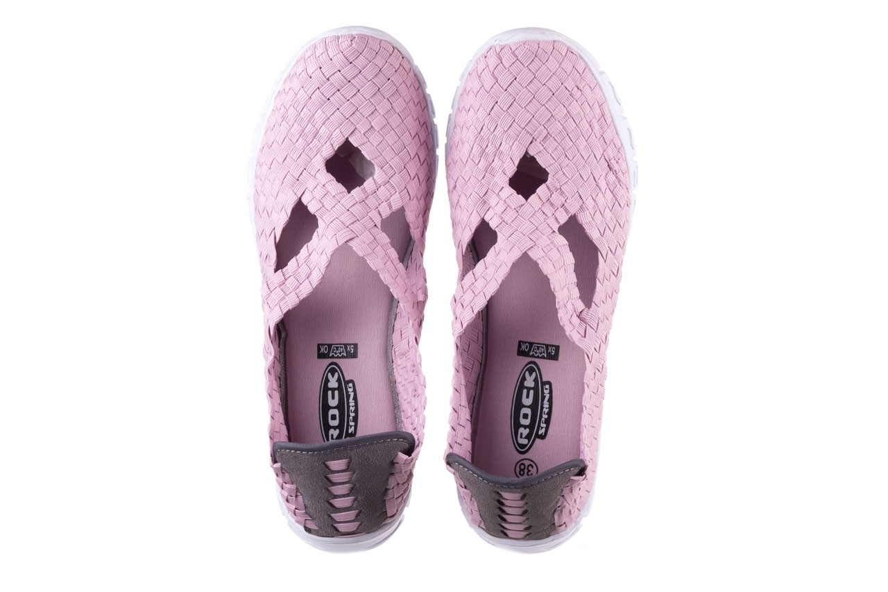 Półbuty rock carioca x dirty pink, róż, materiał - rock - nasze marki 12