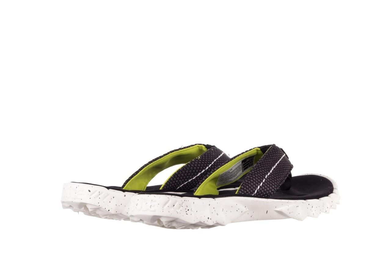 Klapki heydude sava sox black, czarny/ biały, materiał 10