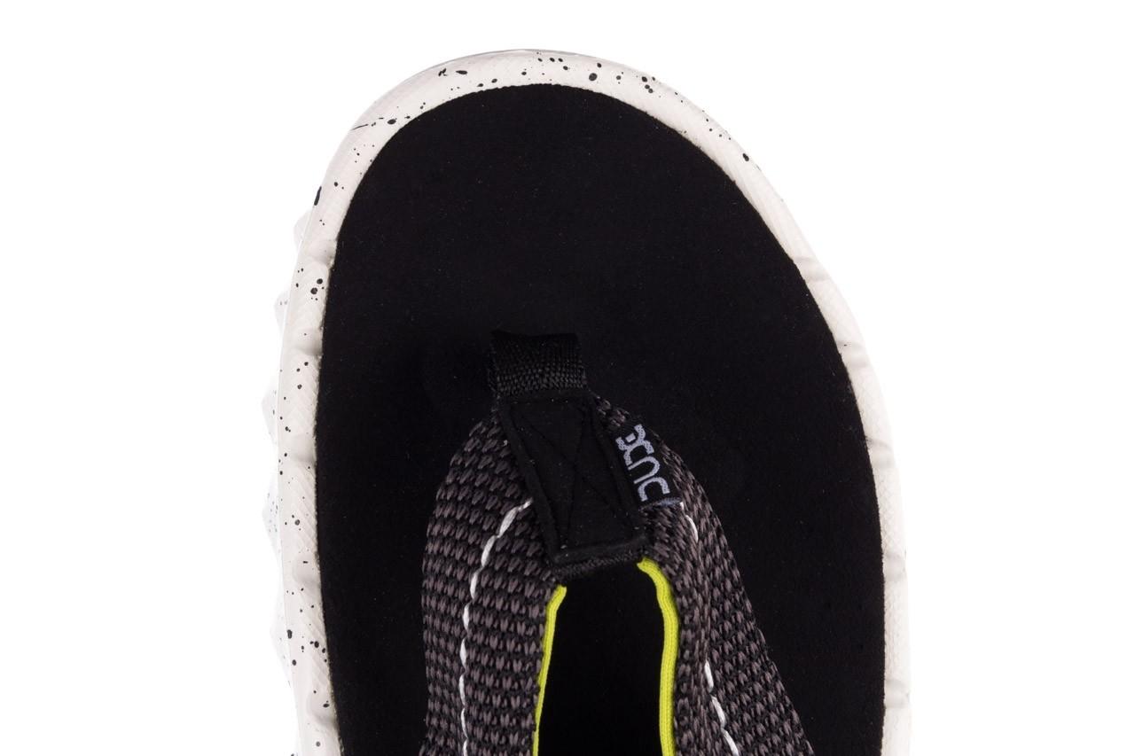 Klapki heydude sava sox black, czarny/ biały, materiał 13